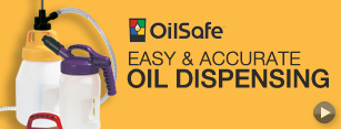Oil Safe Oil Dispensing Containers