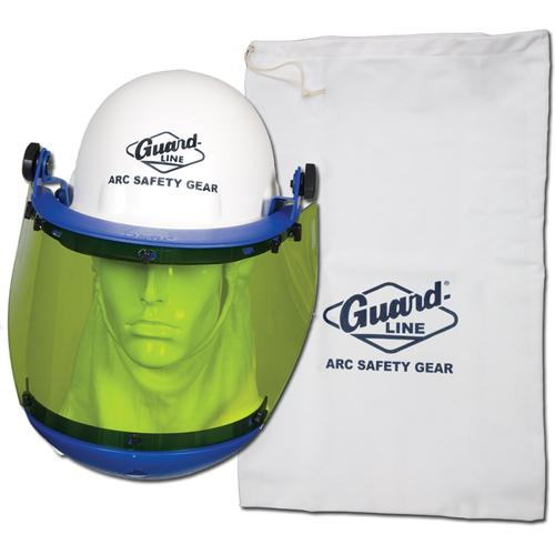 Hard Hat with Arc Flash Face Shield