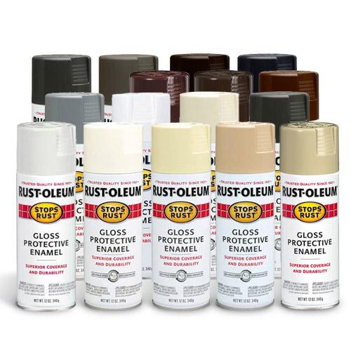 Rust Oleum Stops Rust Protective Enamel Spray Neutral