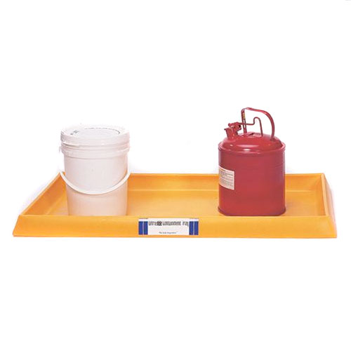 Ultra Tech Spill Containment : Ultratech containment tray safety maintenance