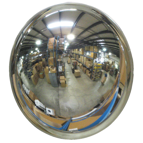 Wide View Convex Mirrors Safety Maintenance