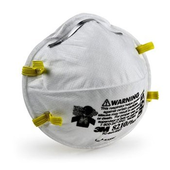 3M™ 8210 Plus disposable respirator N95 dust mask | Safety + Maintenance