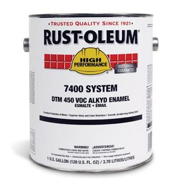 Rust Oleum 174 High Performance 174 7400 System Dtm Alkyd Enamel