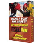 "Digi-Day® Scoreboard- ""Make a Play"" (football graphic)"