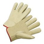 Anchor Brand 4015-2XL Keystone Thumb Standard-grain Tan Cowhide Drivers Gloves