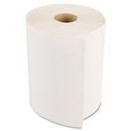 "Boardwalk® Hardwound Paper Towels, 1-Ply, Nonperforated,  8"" x 600'/Roll, White"