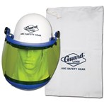 Guard Line Arc Flash Face Shield, Hard Hat Mountable, ATPV10