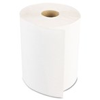 "Boardwalk® Hardwound Paper Towels, 1-Ply, Nonperforated, 8"" x 350'/Roll, White"