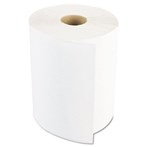 "Boardwalk® Hardwound Paper Towels, 1-Ply, Nonperforated,  8"" x 800'/Roll, White"