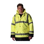 PIP® ANSI Type R Class 3 Value Insulated Winter Coat, Lime