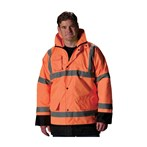 PIP® ANSI Type R Class 3 Value Insulated Winter Coat, Orange