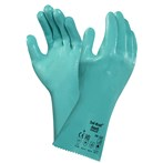 Ansell 39-122 Sol-Knit® Interlock Knit Liner Green Nitrile Gloves