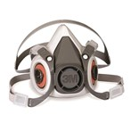 3M™  Half-facepiece 6000 Series  Respirator (without Filters)