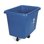 Rubbermaid® Recycling Cube Truck, 16 Cubic Feet