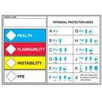 "HMCIS Protective Equipment Labels, 3.5""H x 5""W"