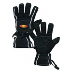 "Heat Pax Sport 5535 13""L Black Fleece-lined Winter Gloves"