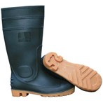 Direct Value PVC Work Boots, Plain Toe