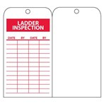 Ladder Inspection Record Tags