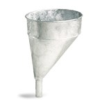 Funnel, Galvanized, Offset, 5 Quart