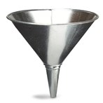 Funnel, Galvanized, 2 Quart