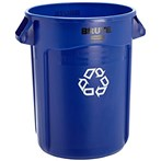 Rubbermaid® BRUTE® Recycling Container, 20 Gallons & 32 Gallons