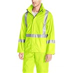 Helly Hansen  Narvik ANSI 3 Hi-Vis Safety Rain Jacket, X-Back, Lime, 70261