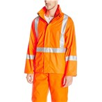 Helly Hansen  Narvik ANSI 3 Hi-Vis Safety Rain Jacket, X-Back, Orange, 70261