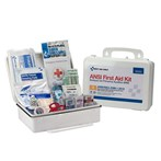 First Aid Only 25-Person Bulk Plastic First Aid Kit, ANSI A, Type III, 90562