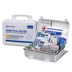 First Aid Only 25-Person Plastic First Aid Kit, ANSI A+, Type III, 90563