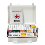 First Aid only 25-Person 16-Unit First Aid Kit, Plastic, Weatherproof, ANSI A,Type III, 90569