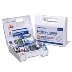 First Aid Only 25-Person Bulk Plastic First Aid Kit, ANSI A+, Type I & II, 90589