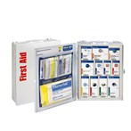First Aid Only 25-Person Med Metal SmartCompliance Food Service Cabinet, ANSI A, Type I & II, 90658
