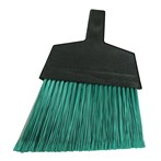 Magnolia Brush 465 Large Flagged Green Plastic Bristle Angle Broom (Case of 12)