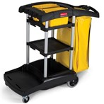 Rubbermaid® High-Capacity Janitor Cart