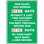 "Turn-A-Day Scoreboard- ""This Plant Has Worked..."" (2 records)"