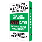 "Digi-Day® Scoreboard- ""This Plant Has Worked..."" (1 record)"