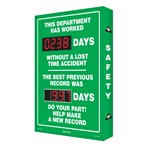 "Digi-Day® Scoreboard- ""This Department Has Worked..."" (2 records)"