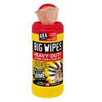 BIG WIPES™ 6002-0046 Heavy-duty Textured Scrub & Clean Wipes