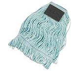 Boardwalk Premium Loop-end/Tailband Standard Mop Head With Scrub Pads