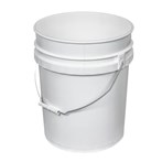 Open-head Tapered Plastic Pails