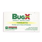 CoreTex Bug-X FREE  Insect Repellent Towelettes  without DEET