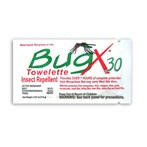 CoreTex Bug-X DEET  Insect Repellent Towelettes