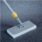 Rubbermaid® Upright Scrubber Pad Holder with Universal Locking Collar