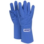 "NSA 14"" - 15"" Large (Mid-arm Length) Blue Cryogen Safety Gloves"