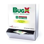 CoreTex Bug-X FREE Insect Repellent Towelettes without DEET, Wallmount Box