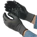 Direct Value  Cotton-Poly Crinkle-Grip Gloves