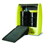 ENPAC Two-drum Hardcover & SpillPallet With Drain