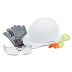 ERB 18531 L1 New-hire PPE Kit, Clear Safety Glasses