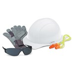 ERB 18532 L1 New-hire PPE Kit, Smoke Safety Glasses