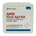 First Aid Only 50-Person Bulk First Aid Metal Kit, Weatherproof ANSI A+, Type III, 90564